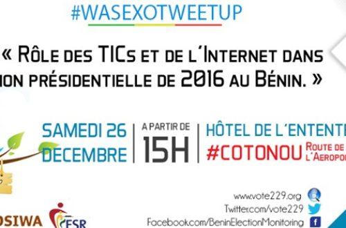 Article : Bénin vote 2016: les blogueurs du Bénin se mobilisent autour de l'élection