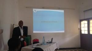 Mr Julien Oussou, coordonnateur national de Wanep-Bénin