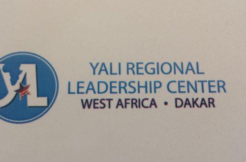 Article : Yali-CRL-Dakar: le Bénin fortement représenté