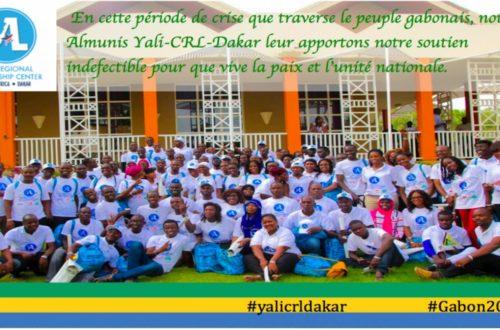 Article : Gabon 2016: Suite à la crise, les fellows Yali-crl-Dakar donnent de la voix