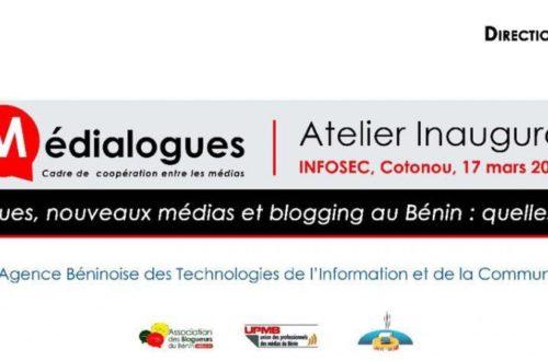 Article : La direction générale des médias et l'association des blogueurs du Bénin ont lancé médialogues