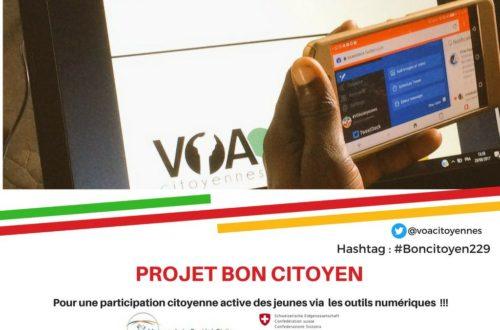 Article : #Boncitoyen229: La jeunesse de Porto-Novo édifiée sur la citoyenneté numérique